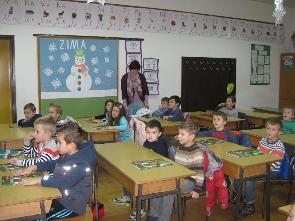 Starije odgojne skupine u posjeti Osnovnoj školi