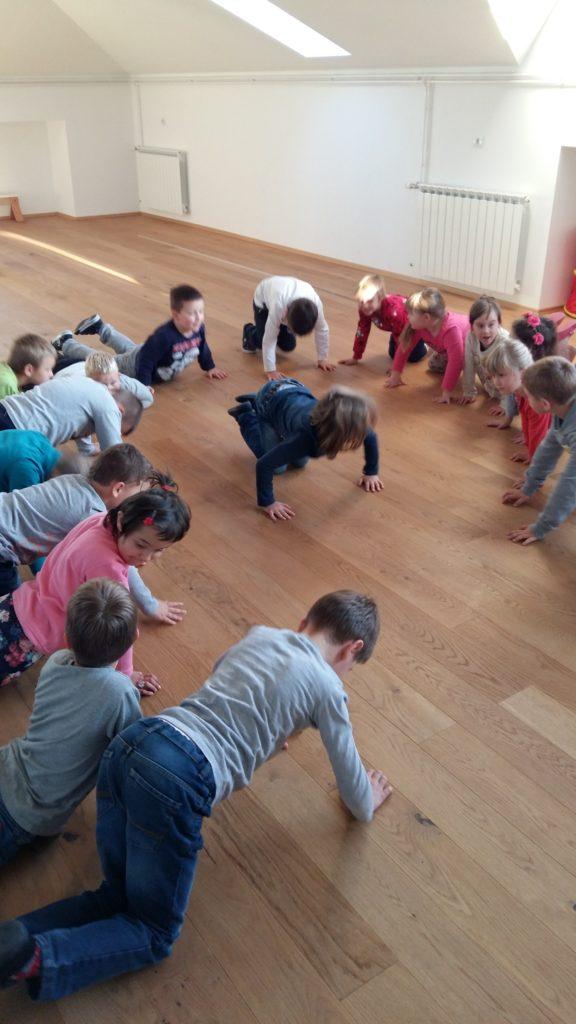 Tjelesne aktivnosti Male škole