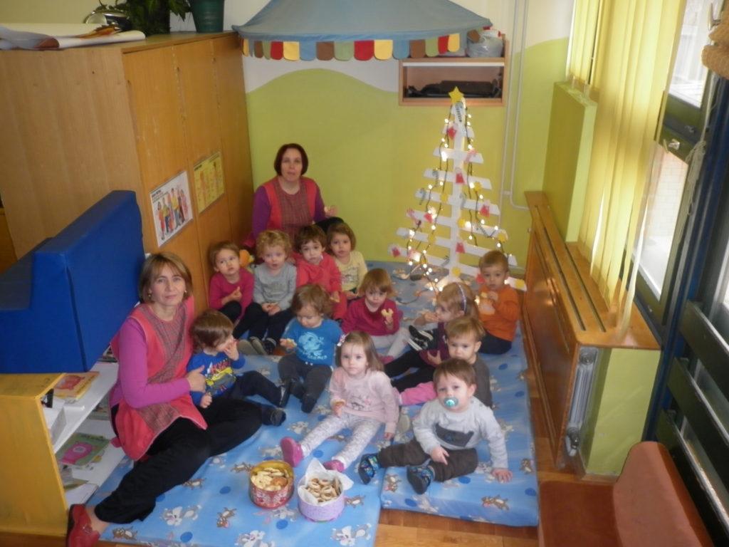 """Božićne aktivnosti malenih """"Ježića"""""""
