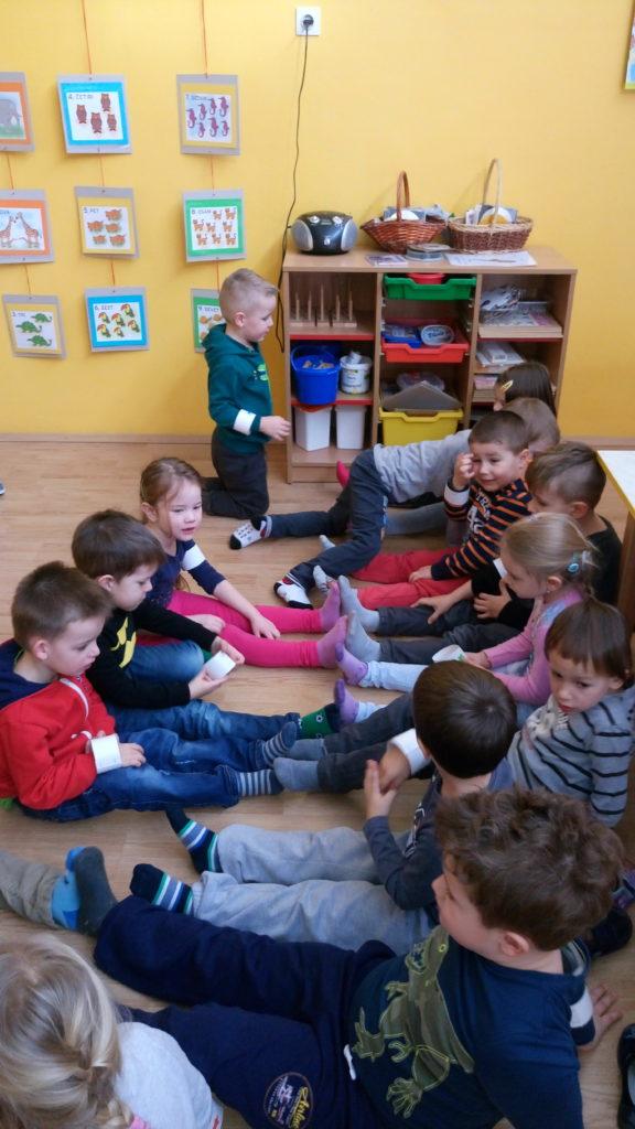 """""""Učenje matematike može biti zabavno"""" u skupini Loptice"""