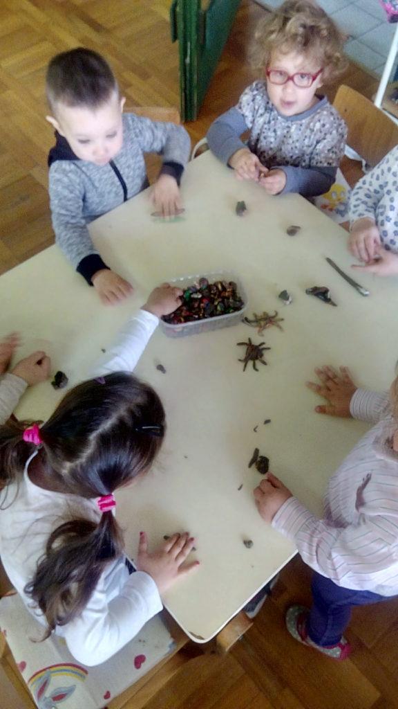 Kikići istražuju livadu i kukce
