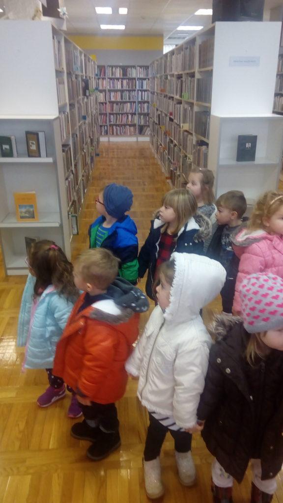1. posjet knjižnici malenih Kikića
