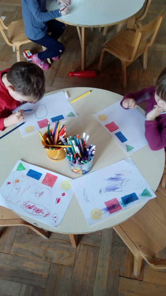 Kikići učili geometrijske oblike