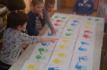 Razne svakodnevne aktivnosti u skupini Zvončići