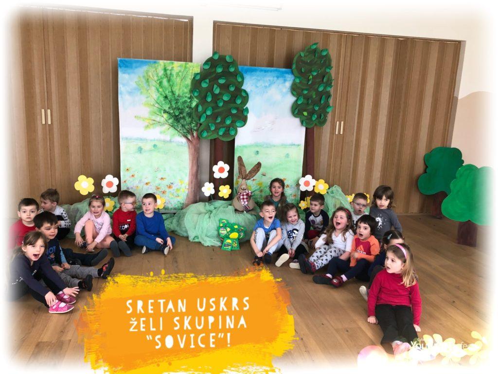 "USUSRET USKRSU-mlađa skupina ""SOVICE"""