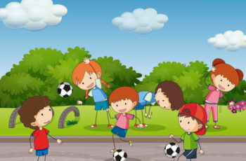 Djeca i nogometna euforija