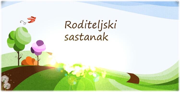 RASPORED RODITELJSKIH SASTANAKA