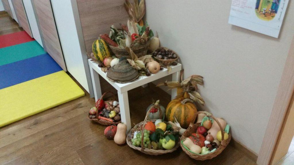 """""""Loptice"""" istražuju plodove jeseni"""