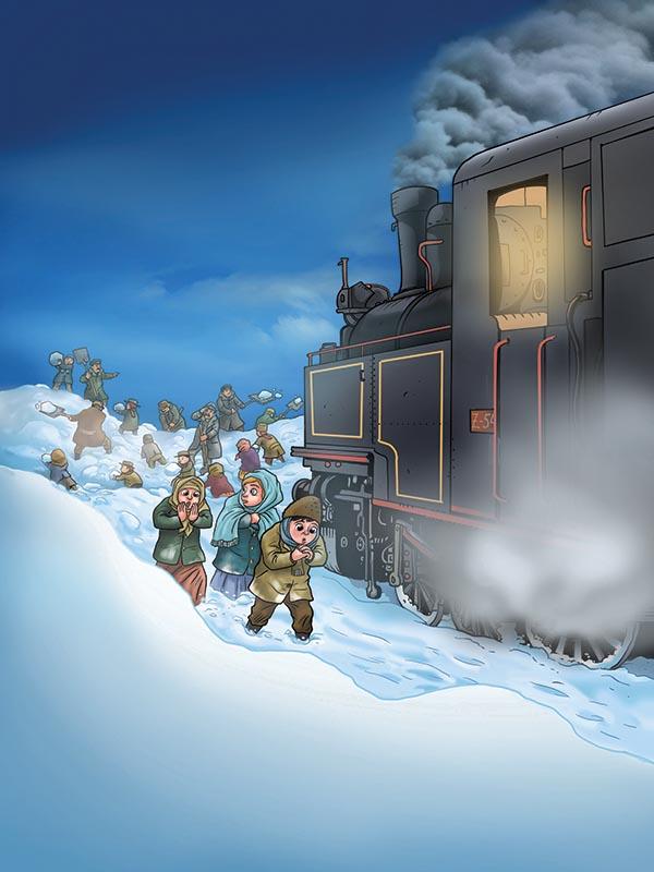 """""""Vlak u snijeg"""" Mate Lovraka u skupini """"Sovice"""""""