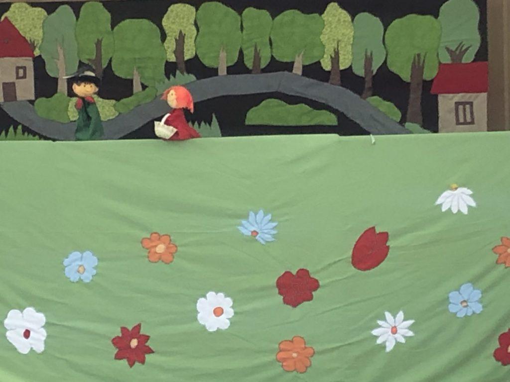 Lutkarska predstava dramske skupine-Crvenkapica