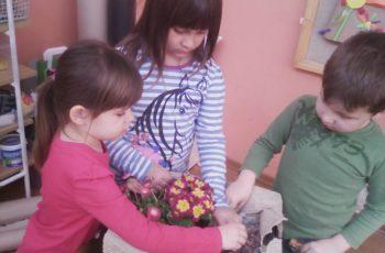 Proljetne aktivnosti u skupini Cvjetići