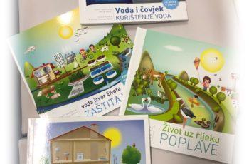 Predstavnici Hrvatski voda u Dječjem vrtiću Maslačak