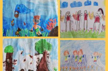 """Međunarodni natječaj dječjih crteža """"DJECA SU PRIJATELJI NA PLANETI"""""""