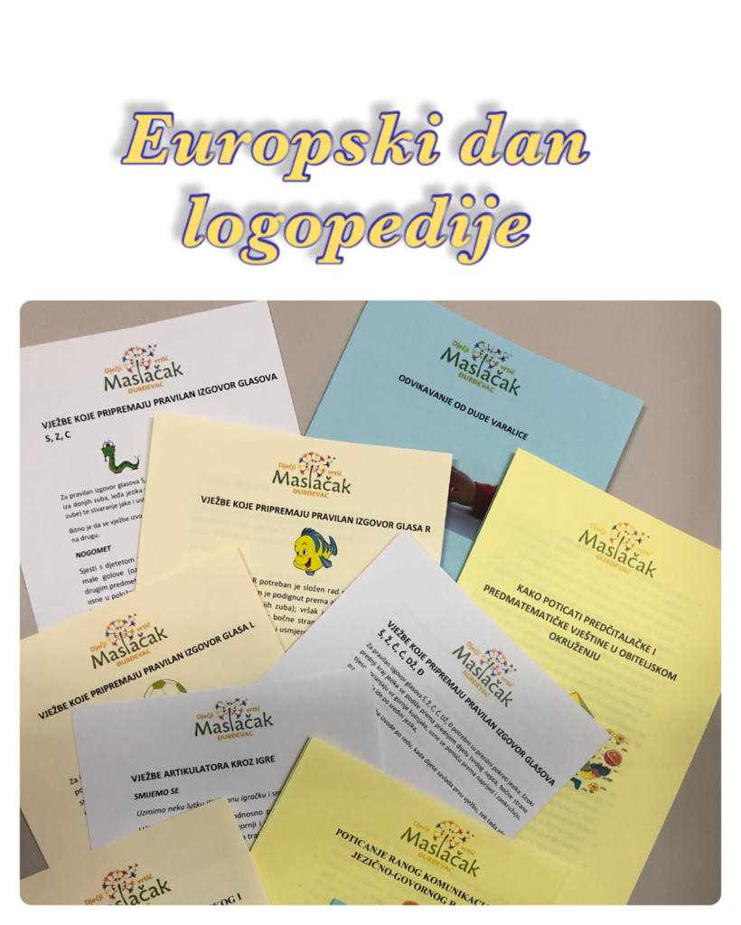 6.ožujak Europski dan logopedije